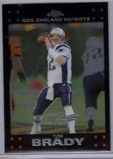 Tom Brady 2007 Topps Chrome Card #TC6