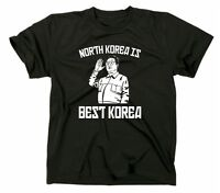 North Korea Is Best Korea Fun T Shirt Kim Yong Un Il Sun Jong Funshirt Nordkorea