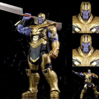The Avengers Endgame Thanos Action FIgure Classic office ornaments 18CM NEW