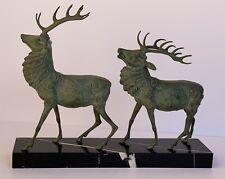 n. Pierre-Jules MÈNE (1810-1879)++   2 Hirsche  ++ feine Bronze um 1900