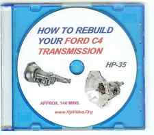 """How to Rebuild your Ford C4 C5 Automatic Transmission Video Manual """"DVD"""""""