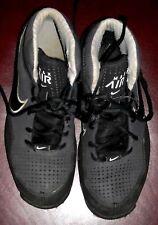 NIKE size 9 basketball shoes AIR MAX retro vtg black