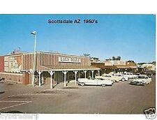 1950's Scottsdale AZ  Street Scene   Novelty PC Magnet