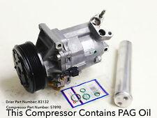 Reman. A/C Compressor Kit Fits: 07-12 NISSAN VERSA (1.8L MANUAL TRANSMISSION)