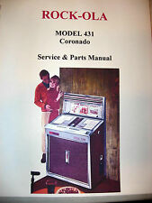 Rock-ola Model 431 Coronado Jukebox Manual