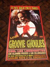 1998 Kozik GROOVIE GHOULIES Loudmouths SILKSCREEN concert POSTER s/n