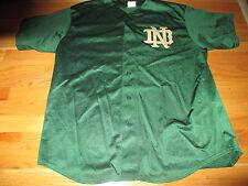 Majestic NOTRE DAME FIGHTIN IRISH (XL) Baseball Jersey