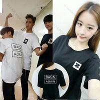 Kpop KNK T-shirt Unisex Back Again Tshirt Tee Tops YOUJIN SEUNG JUN JIHUN