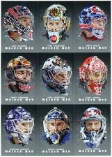 2008-09 In The Game Between The Pipes Masked Men Silver 50-Card Insert Set