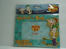 """DISNEY Phineas and Ferb MAGNETIC Picture FRAME 4x6  NEW in pkg """"FREE SHIPPING"""""""