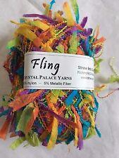 Crystal Palace Yarns Fling #9490 Circus - Paper Flag Metallic Sparkle 50gr