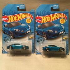 2019 Hot Wheels Alpine A110 Lot of 2 Cars