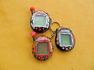 Vintage Tamagotchi Connection Lot Of 3   ALL Tested ALL Work