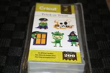 Trick or Treat Halloween Cricut cartridge with booklet box overlay NIB