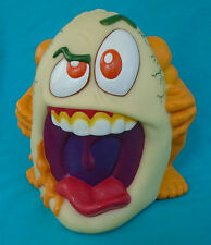 """1998 Toy Biz Rotten Egg, 6½"""" tall soft vinyl ugly scary figure, not working"""