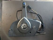 Evinrude Johnson BRP Controls Side Mount With Trim Switch and Key