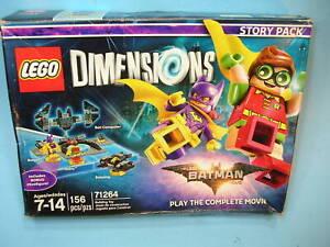 MISB LEGO 71264 DIMENSIONS BATMAN STORY PACK  w/ Batgirl, Robin, Batwing, Comput