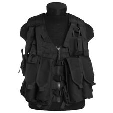 Military Range Combat AK74 Tactical Vest with Pouches Set MOLLE System Black