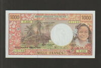 French Pacific Territory,1000 Francs Banknote,(1996),Uncirculated Cat#2-5B-5790