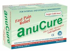 Anucure the BEST Hemorrhoid Treatment Available - FDA Cleared, 100% Natural