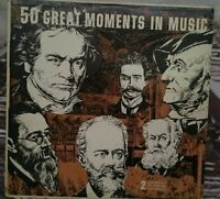 Great Moments in music                        LP Record