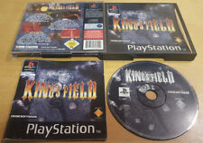 KING'S FIELD for SONY PLAYSTATION 1 PS1, PS2 & PS3 VERY RARE & COMPLETE