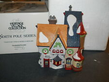 DEPT 56 HERITAGE VILLAGE COLLECTION NORTH POLE TASSY'S MITTENS & HASSEL'S 5622-7