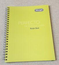 DeLonghi Perfecto Microwave Oven Recipe Book