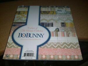PAPERBLOCK BO BUNNY/36 SHEETS/6X6 INCH/1 SIDE/ NEW (C)