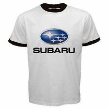 Subaru Car Automobile #AN01 Men Ringer T Shirt S M L XL XXL