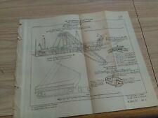 1898 French Diagram of Germany Dredge Parts Steam Barge Swinoujscie Poland Port
