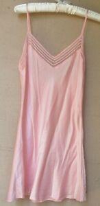 Victoria's Secret Pink Silk Slip   Medium