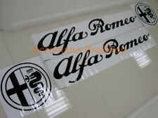 Alfa Romeo logo script large side door fender stripe decal sticker 155 156 147