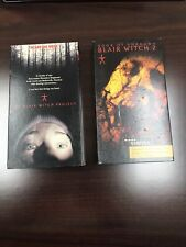 New ListingVhs Lot! The Blair Witch Project & Book Of Shadows 1 & 2 Set Tested Horror