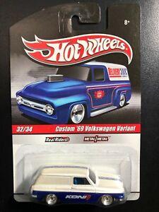 2010 Delivery Series Hot Wheels #32/34 Custom 69 Volkswagen Variant  Real Riders
