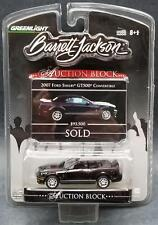 Greenlight Barrett-Jackson Auction Block 2007 Ford Shelby GT500 Convertible MOC