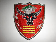 "Vietnam War ARVN Combine & Destroy Group ""PHOI HOP TIEU DIET"" Patch"