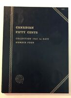CANADIAN HALF DOLLAR (1961-DATE) #9094  COIN FOLDER BY WHITMAN - NEW OLD STOCK