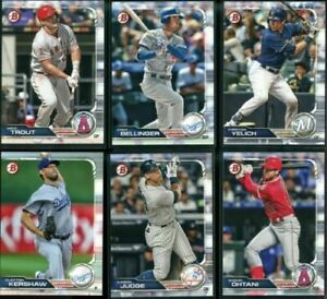 2019 Bowman baseball paper Team Sets - Rookies, Vets, Prospects - Pick Your Team