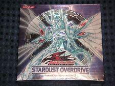 YuGiOh 5D's OCG Stardust Overdrive Booster BOX CG1145 Japanese KONAMI JAPAN F/S