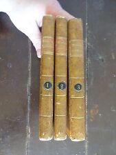 Roman Comique, Par M. Scarron.  Nouvelle Edition, 1767 French Text - 3 Volumes
