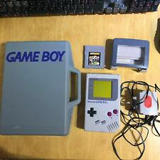 Nintendo Gameboy Original + Case + Game + Magnifier + AC Adapter