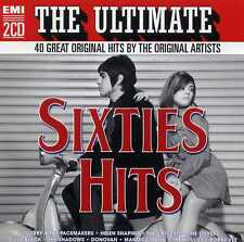 THE ULTIMATE SIXTIES HITS - DION LULU SEEKERS HOLLIES SHADOWS - 2 CDS - NEW!!