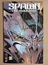 1999 IMAGE COMICS SPAWN THE DARK AGES #1 TODD MCFARLANE VARIANT COVER