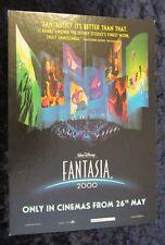 Walt Disney's Fantasia 2000 original British mini counter card