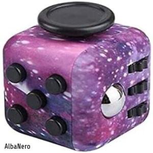 Galaxy Fidget Cube, Creative Fidget Toys, Stress Relief Toys for Beginners | UK