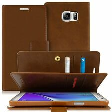 Leather wallet Trifold Flip book Case cover for iPhone 7 Galaxy s Note LG V20 G6