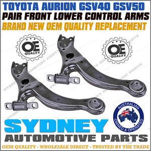 OE QUALITY fits Toyota Aurion GSV40 GSV50 Pair Front Lower Control Arm LH & RH