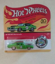 '67 HEMI Barracuda (2018 Hot Wheels - 50th Anniversary Originals Replica #5/5