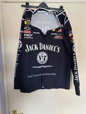 More details for size small camisa nascar shirt advertising jack daniels motor racing jersey